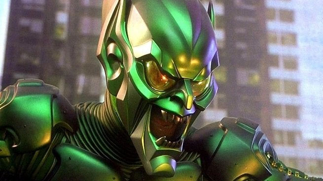 Green Goblin Spider Man