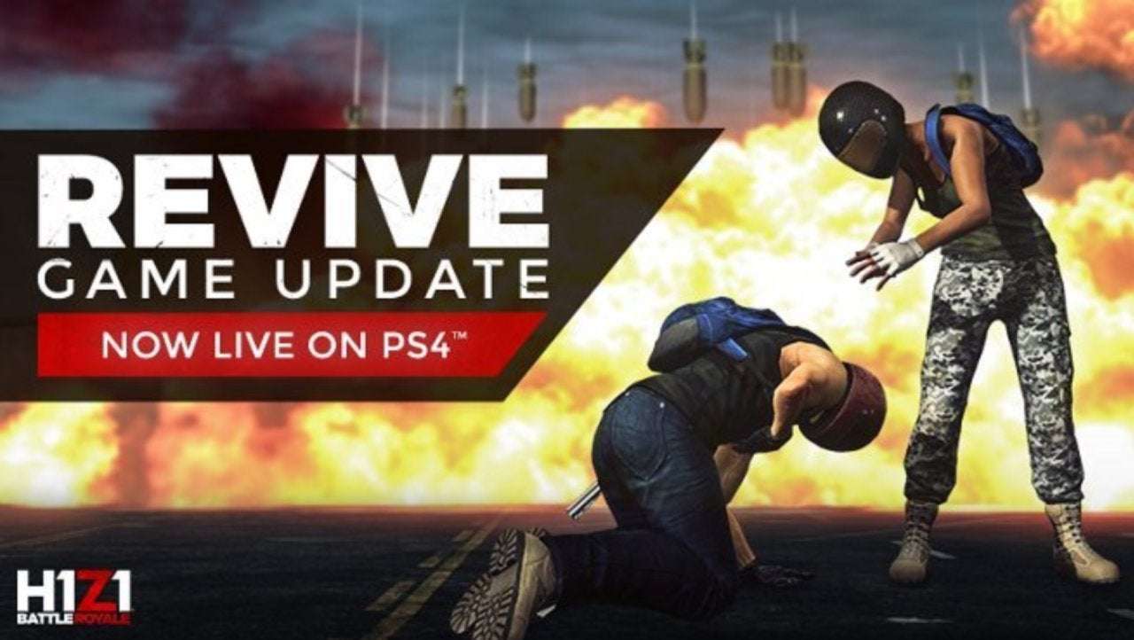 H1Z1 PS4 Patch Adds Revive Mechanic and Airstrike Signal