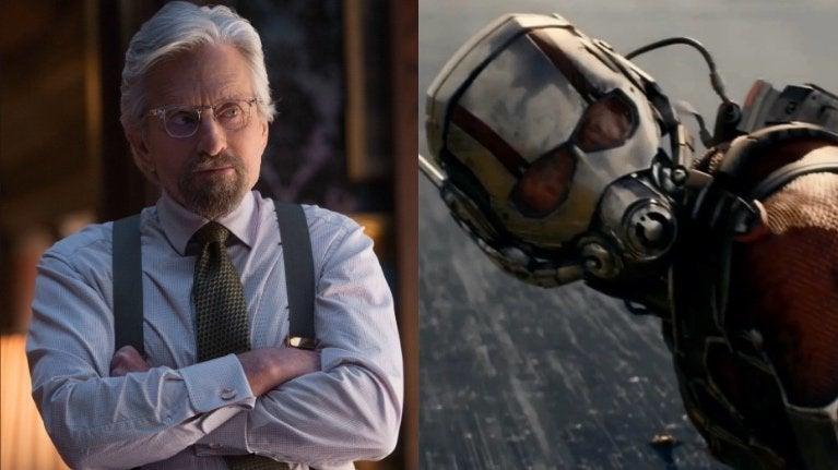Hank Pym Ant-Man Michael Douglas
