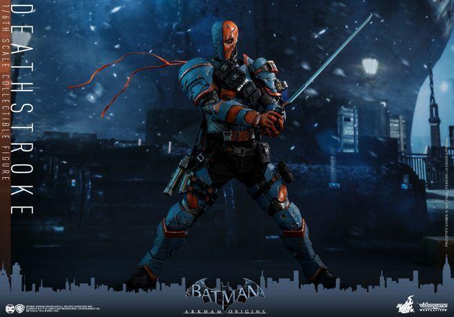 Hot Toys - Batman Arkham Origins - DeathStroke collectible figure_PR12