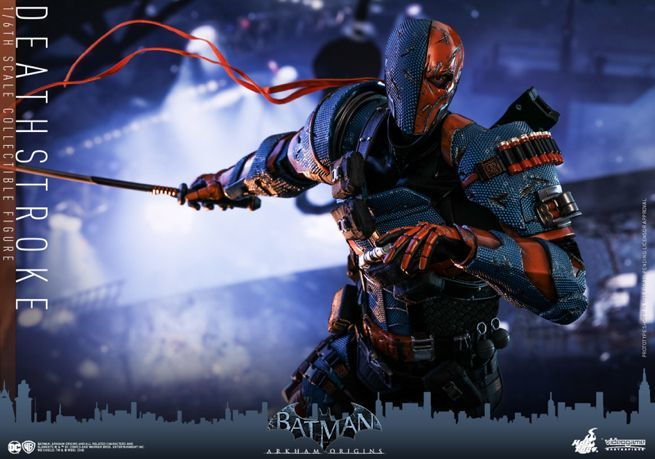 Hot Toys - Batman Arkham Origins - DeathStroke collectible figure_PR17