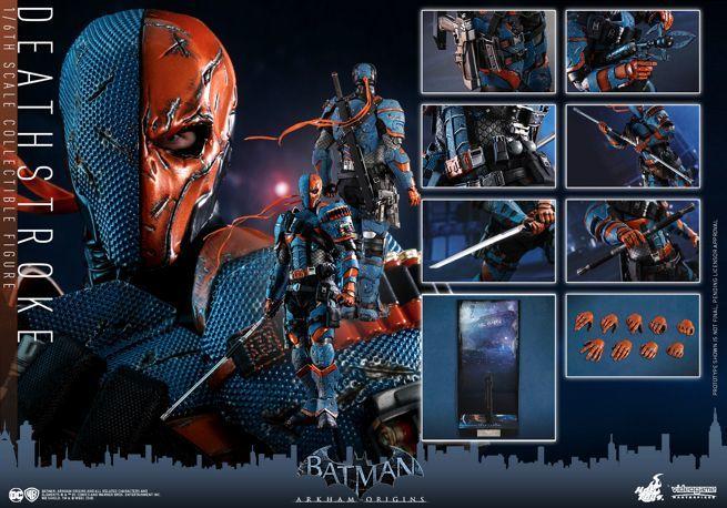 Hot Toys - Batman Arkham Origins - DeathStroke collectible figure_PR24
