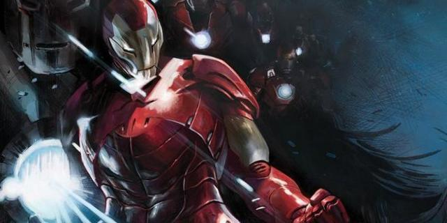 Iron Man 2018 - Cover