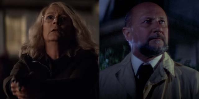 jamie lee curtis loomis donald pleasence halloween sequel