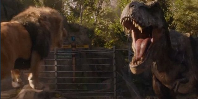 Jurassic World 2 T-Rex Lion
