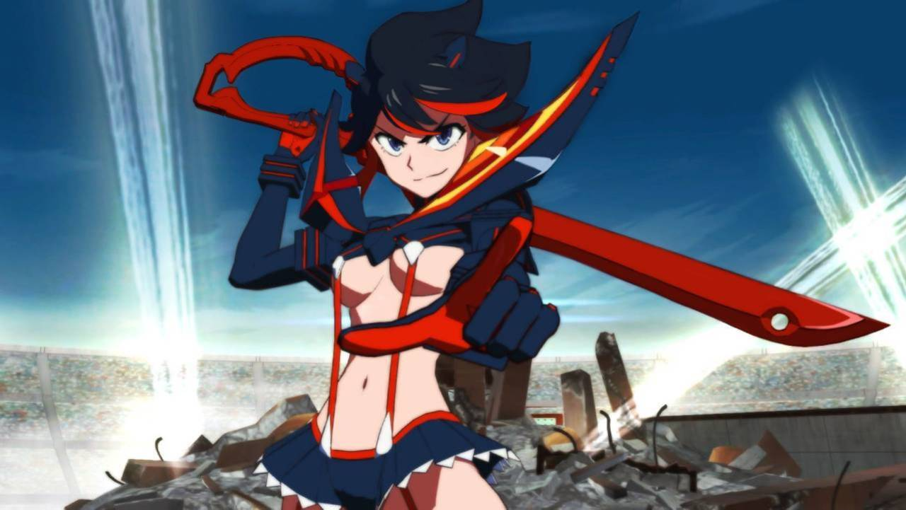 kill la kill the game if coming to nintendo switch new characters