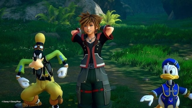 kingdom hearts III happy