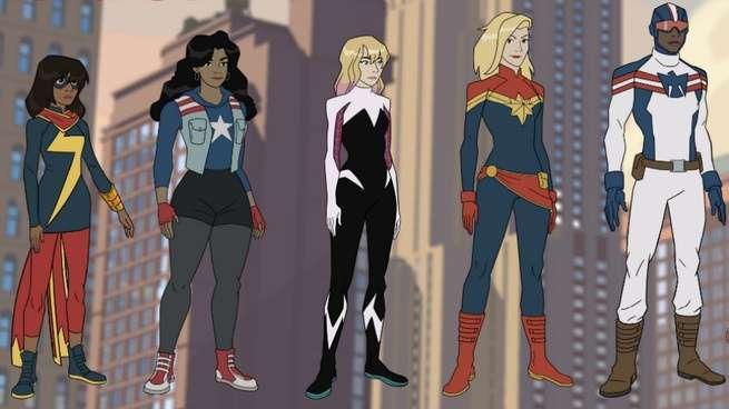Marvel Rising Alpha - Rising Stars