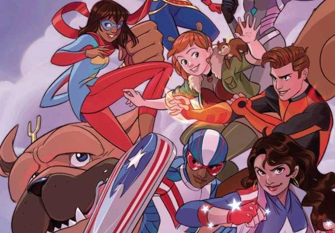Marvel Rising Alpha - Summer Event