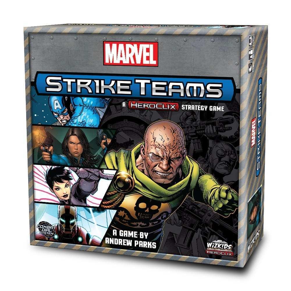 Marvel Strike Teams Box Art