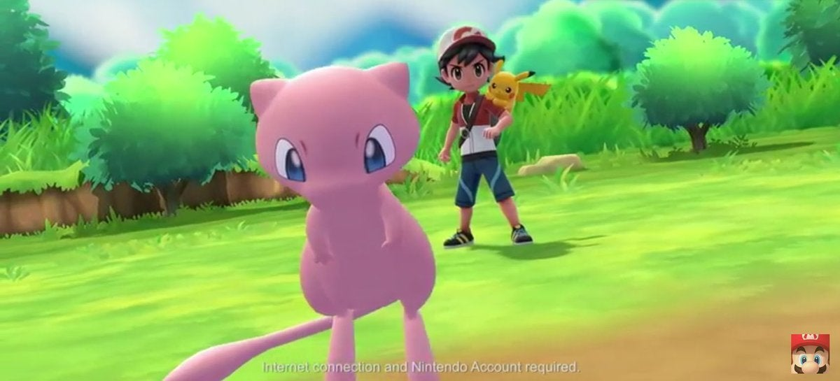 mew pokemon lets go