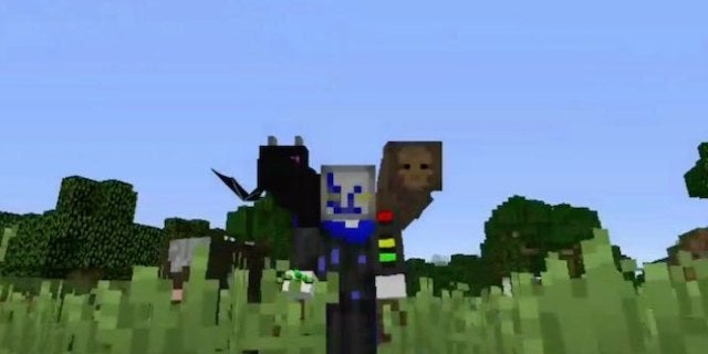 Minecraft Shoulder Mod