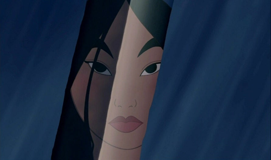 mulan disney animated