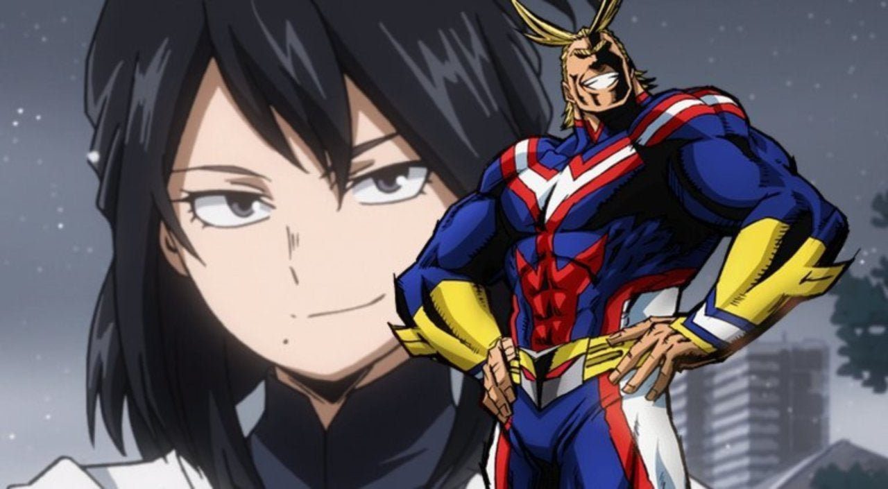 Image result for all might and nana