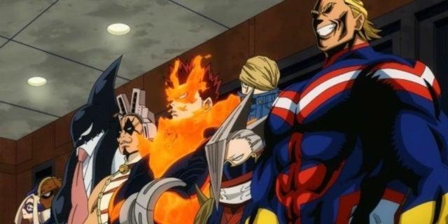 my hero academia heroes