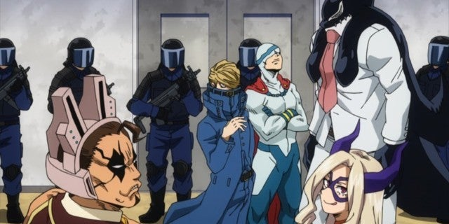 My Hero Academia Season 3 Best Jeanist Ragdoll Retire Death