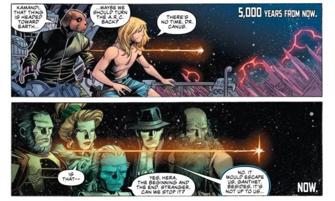 Review Justice League #1 - The Future