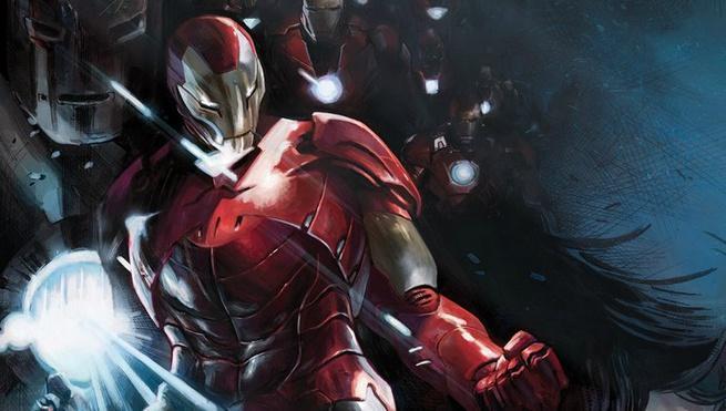 Review Tony Stark Iron Man #1 - Cover