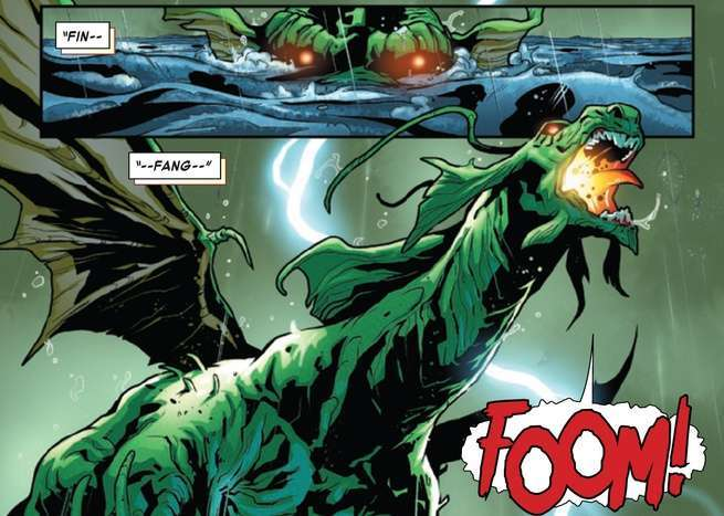 Review Tony Stark Iron Man #1 - Fin Fang Foom
