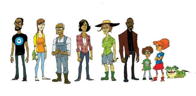 Rob Guillory Farmhand Interview - Family and Cast