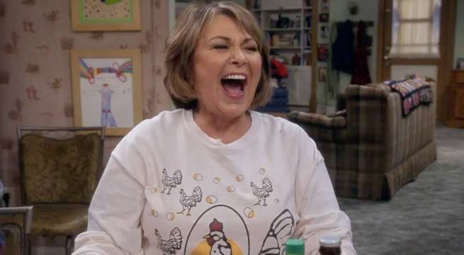 roseanne barr laugh