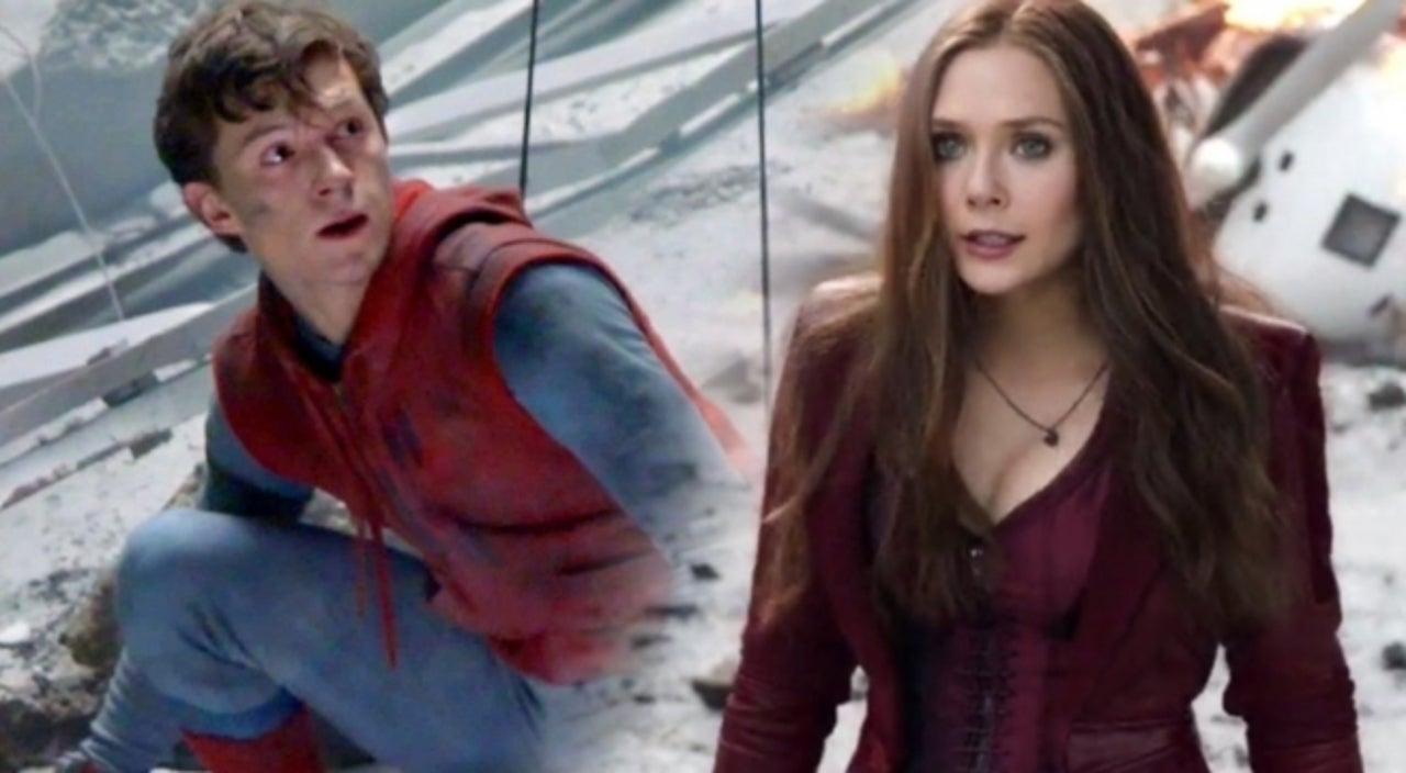 Elizabeth Olsen Wants Scarlet Witch To Team Up With Spider-Man