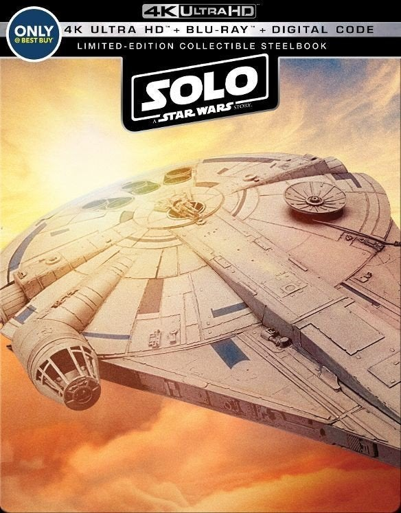 solo a star wars story collectible steelbook best buy