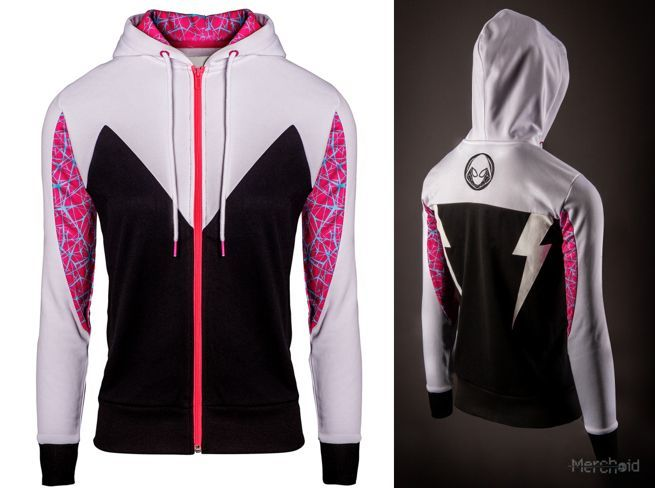 2b5be973 Spider-Gwen Joins Marvel's New Spider-Man Hoodie Team