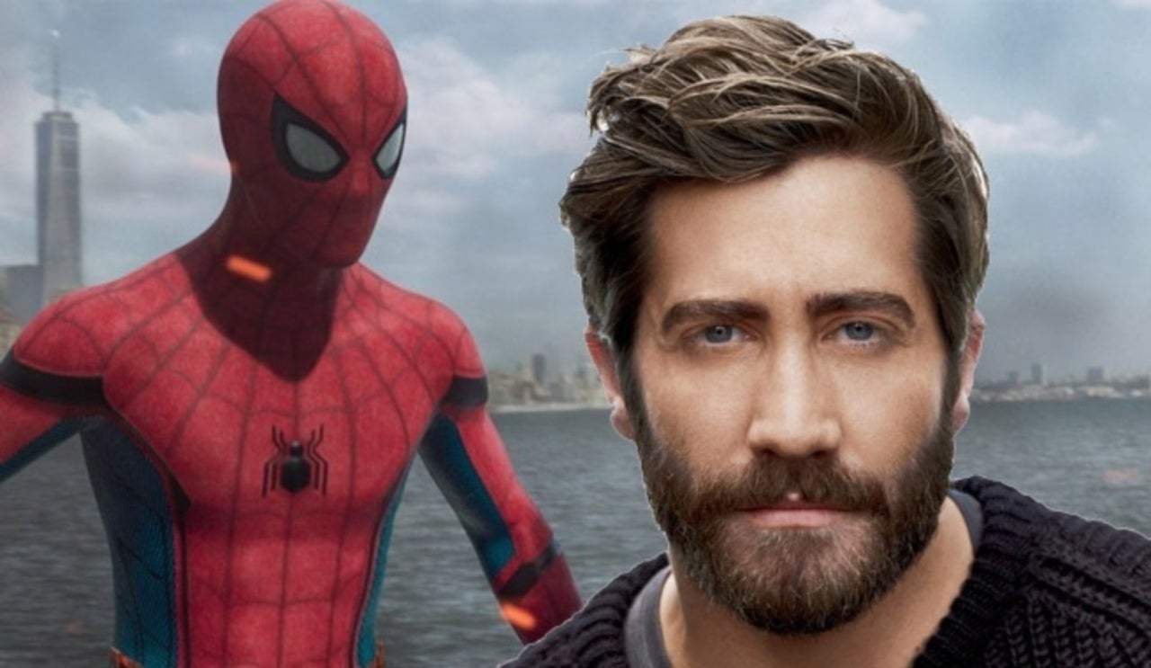 spider-man: far from home': jake gyllenhaal spotted in london
