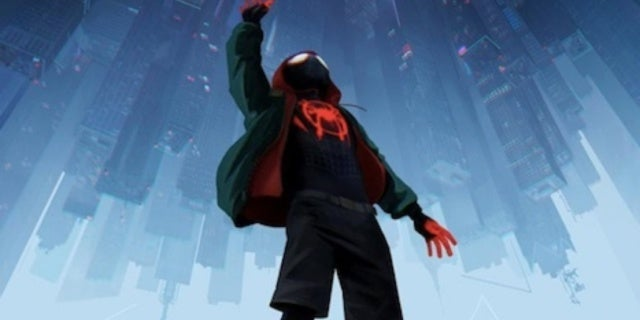 spider-man poster header miles morales