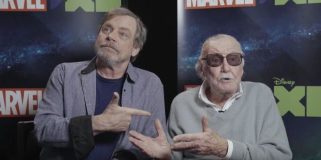 Stan Lee And Mark Hamill Hanging Out Is The Best Thing You'll See All Day