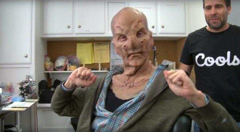 Star Trek Discovery Saru Makeup