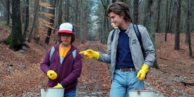 stranger things joe keery gaten matarazzo