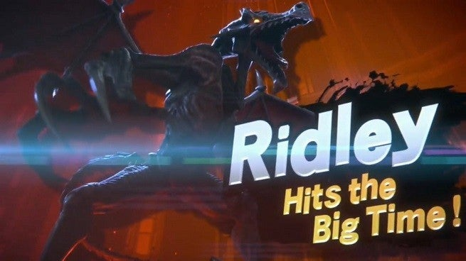 Super Smash Bros Ultimate Ridley