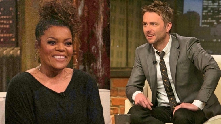 Talking Dead Chris Hardwick Yvette Nicole Brown comicbookcom
