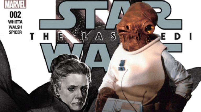 The Last Jedi Ackbar comicbookcom