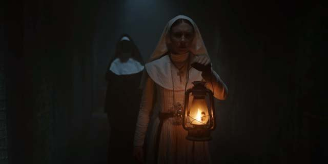 the nun trailer taissa farmiga conjuring