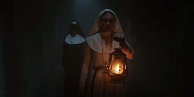 the nun trailer taissa farmiga conjuring