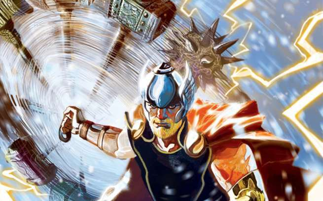 The Return of Thor - Cover