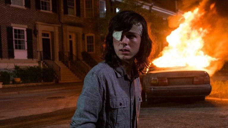 The Walking Dead 808 Carl Grimes