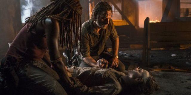 The Walking Dead Carls death