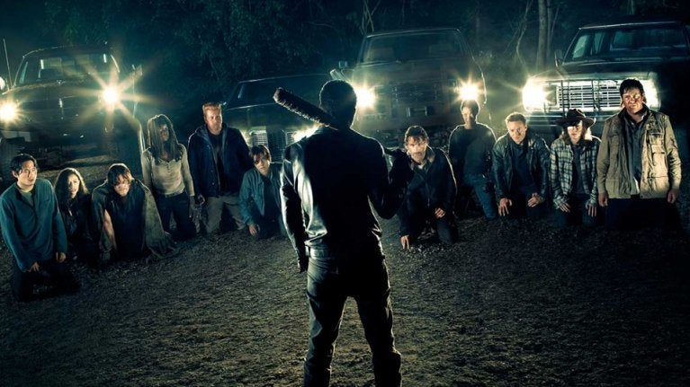 The Walking Dead Negan line up