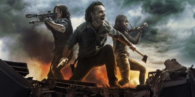 The Walking Dead season 8 key art