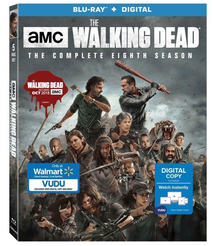 The Walking Dead season 8 walmart