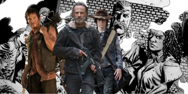 The Walking Dead TV show comics ComicBookcom