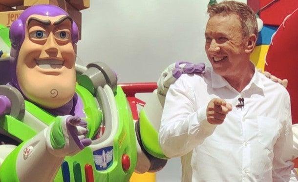 toy story land tim allen buzz