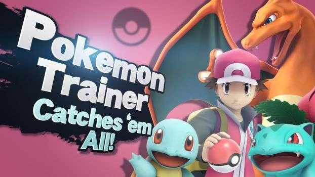 Pokemon Trainer, Other Popular Pokemon Fighters Return in Super Smash Bros.  Ultimate