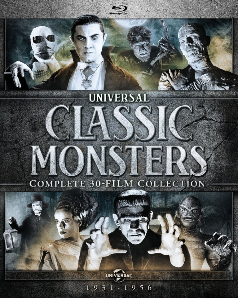 universal monsters complete blu ray set dracula frankenstein