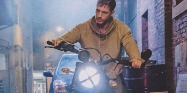 venom movie motorycycle still