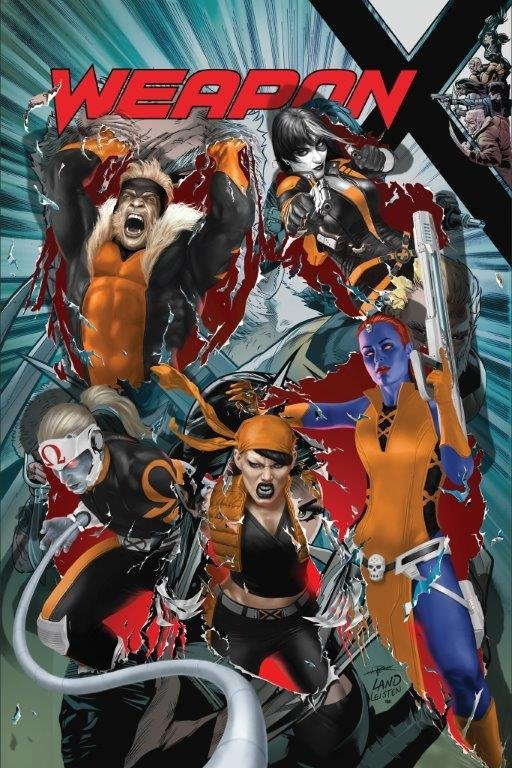 Weapon X #22